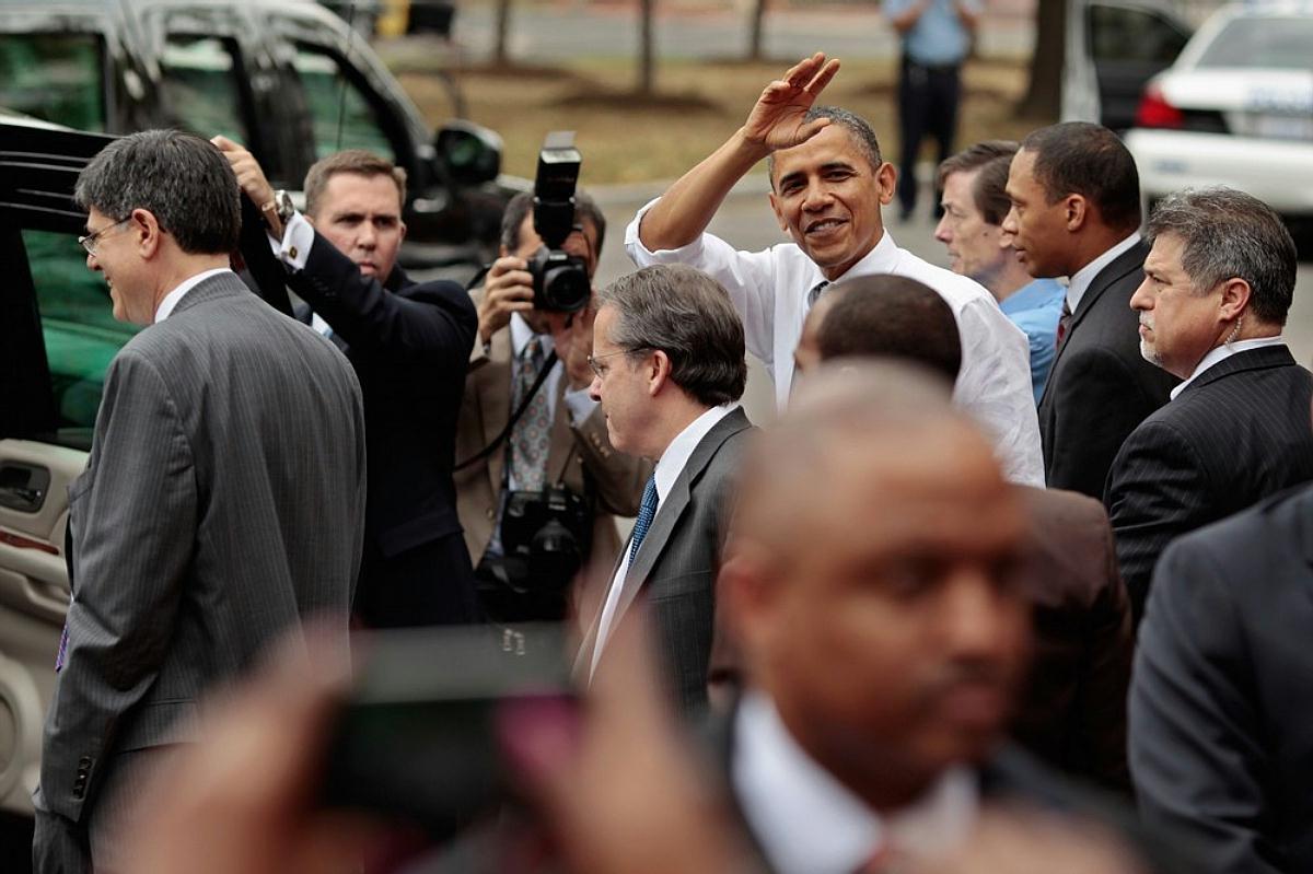 President Obama & Secret Service