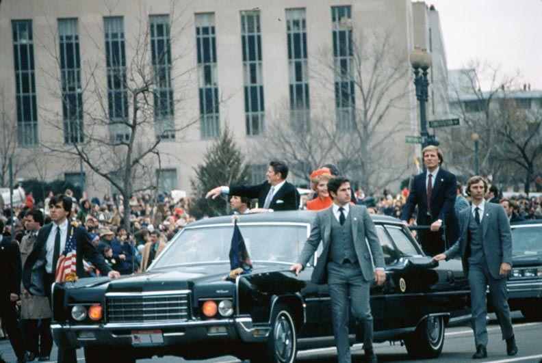 1/20/81: Reagan inaugural motorcade