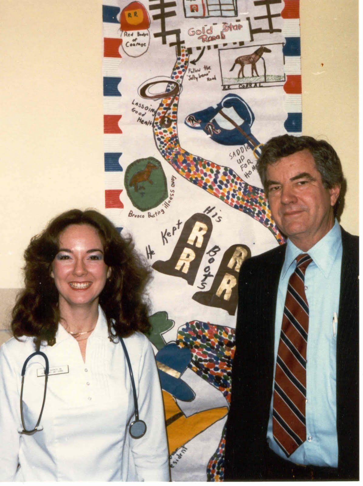 SAIC of Reagan PPD Jerry Parr and nurse April 1981