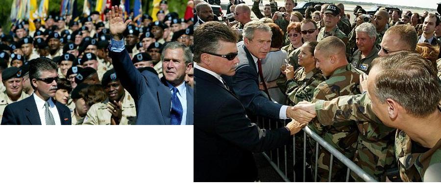 SAIC Nick Trotta, Bush