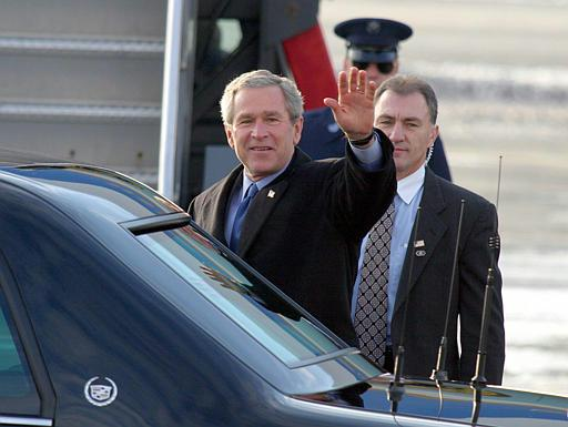 SAIC Eddie Marinzel, Bush