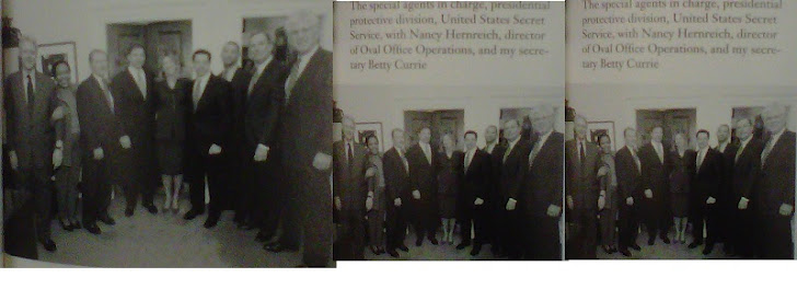 "All the SAIC's of PPD (small picture from Clinton's ""My Life"")"