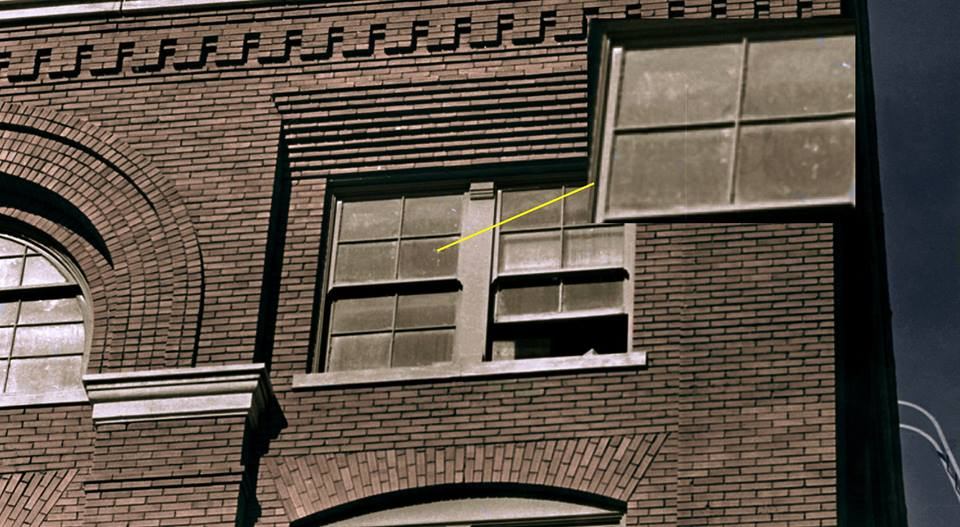 Photo Of Lee Harvey Oswald In Window After Jfk